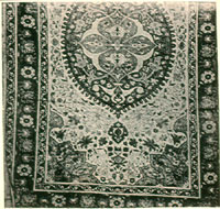 Silk Carpet from Kayseri